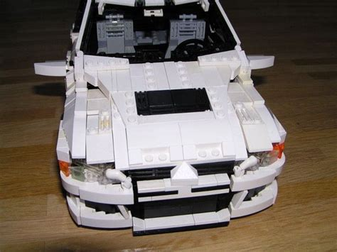 lego mitsubishi evo lego mitsubishi lancer evo this is amazing lancer