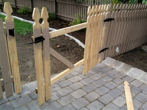removable fence section removable fence section custom gate for yard access by