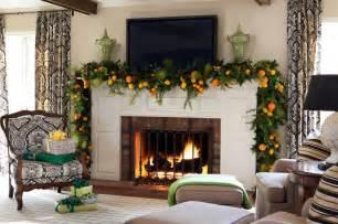 mantelpiece decor ideas christmas mantel decor inspiration mantel christmas garland ideasjpg c
