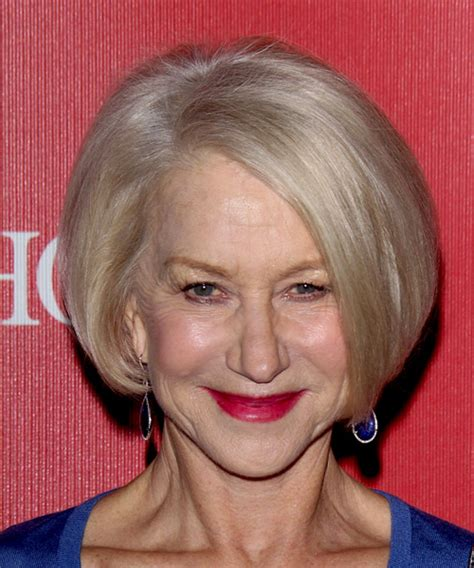 Helen Mirren Hairstyles in 2018