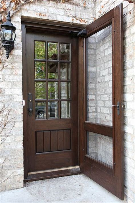 exterior door with window and screen 25 best ideas about screen doors on front