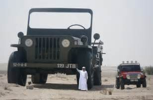 Largest Jeep In The World The Trucks Of The Eccentric Quot Rainbow Quot Sheikh