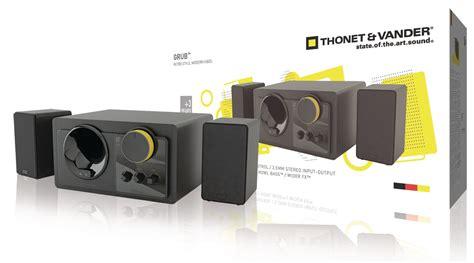 Sale Thonet Vander Grub th 03505bl thonet vander grub speaker 2 1 wired 48 w black yellow electronic discount be