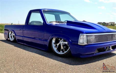 mazda b2200 lowrider custom pickup mazda b2200 w chevy smallblock 350