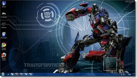 themes for windows 7 transformers transformers theme for windows 7 and windows 8