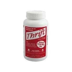 Thrift Plumbing Supplies by Drain Cleaner Thrift Drain Cleaner 1lb 2lb Or 6lb