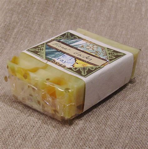 Handmade Soap Bar - handmade soap bar with belly band label crafts by