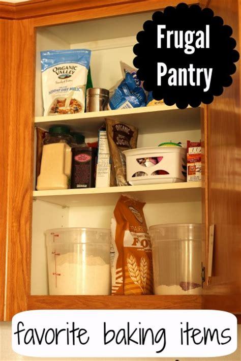 frugal pantry favorite baking ingredients