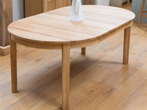 oak dining table extendable for home