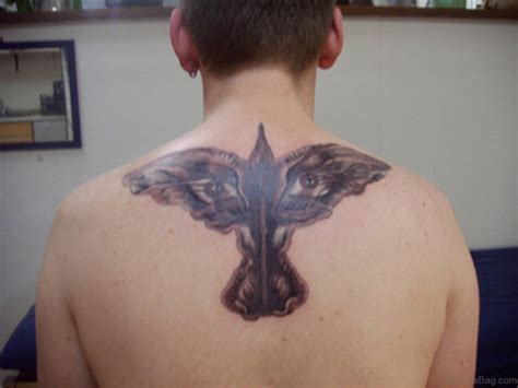 62 gleaming crow tattoos on back