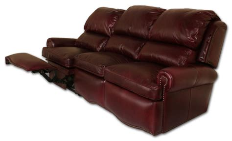 barrington leather power reclining sofa leather sofa recliner talentneeds com