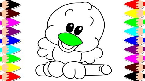 imagenes infantiles de animales c 243 mo dibujar un p 225 jaro f 225 cil dibujos infantiles para