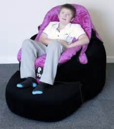 Cowhide Bean Bag Disability Chairs Foter