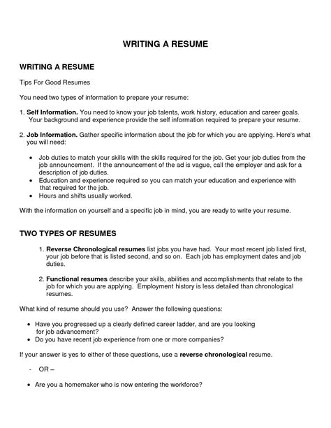 best objective to write in resume objectives for resumes resume ideas