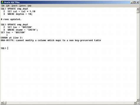 Oracle Update Table by Dedaljumbo