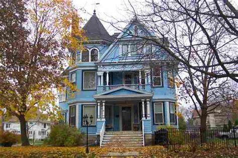 blue victorian house blue victorian house home exteriors pinterest