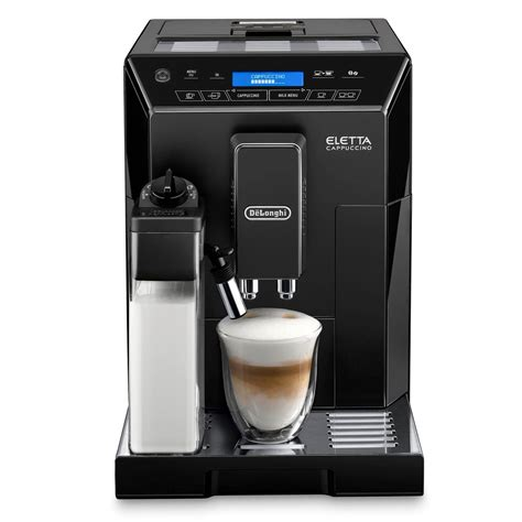 espresso maker delonghi eletta ecam44 660 b bean to cup cappuccino coffee