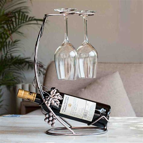 Wine Bottle And Glass Rack by Wine Bottle And Glass Rack Decor Ideasdecor Ideas
