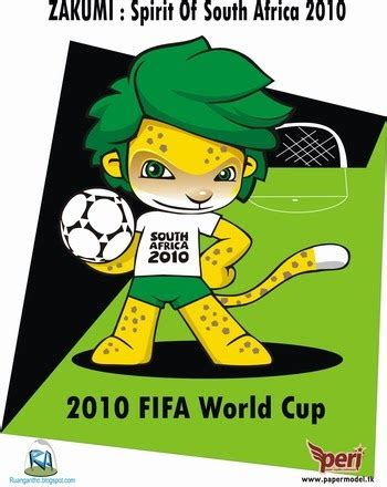 Essay About 2010 Fifa World Cup ruang antho zakumi papertoy 2010 fifa world cup mascot