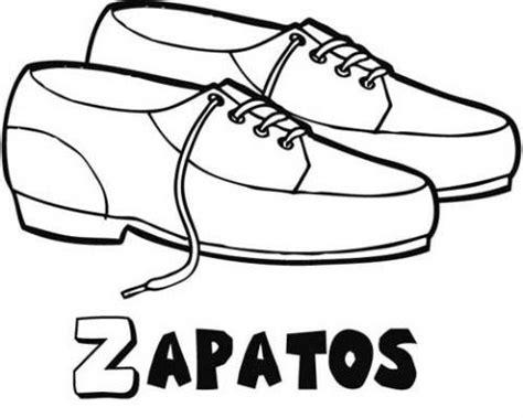 imagenes para niños de zapatos dibujo para colorear de zapatos de cordones para los ni 241 os