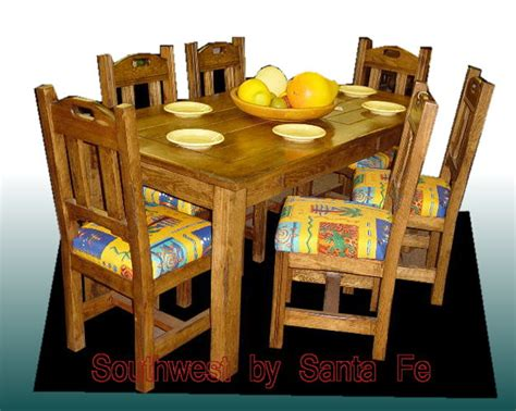 southwestern dining room furniture dining table southwestern dining table chairs