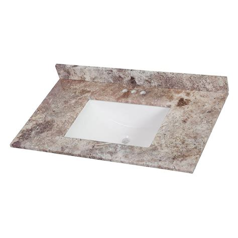 Effects Vanity Top by Home Decorators Collection 37 In Effects Vanity Top