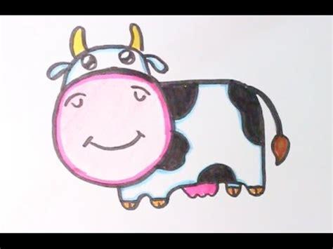 imagenes de vacas kawaii dibujando una simp 225 tica vaca estilo kawaii youtube