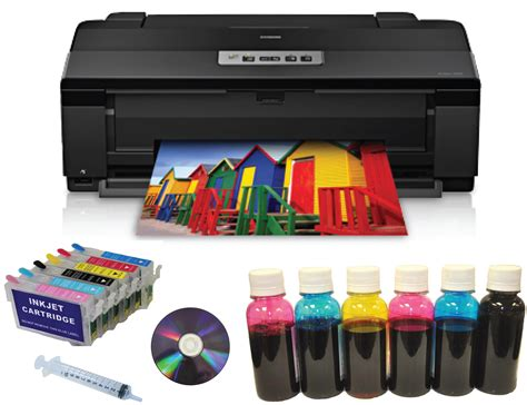 Printer Epson Refill epson artisan1430 printer 13x19 refill cartridge dye ink fpt epson1430 refill 6dye
