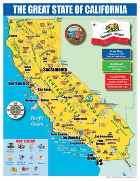 california map facts california map for california map
