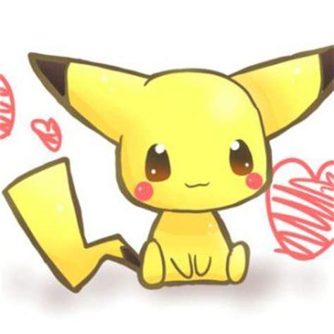imagenes de pikachu kawaii dibujos de pikachu kawaii para dibujar colorear imprimir