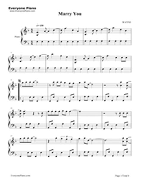 download mp3 bruno mars marry you free marry you bruno mars钢琴谱文件 五线谱 双手简谱 数字谱 midi pdf 免费下载