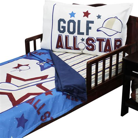 golf comforters golf all star toddler bedding set toddler bedding by