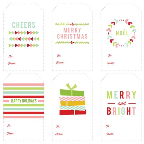 printable sheet of christmas tags 296 free printable holiday gift tags the scrap shoppe