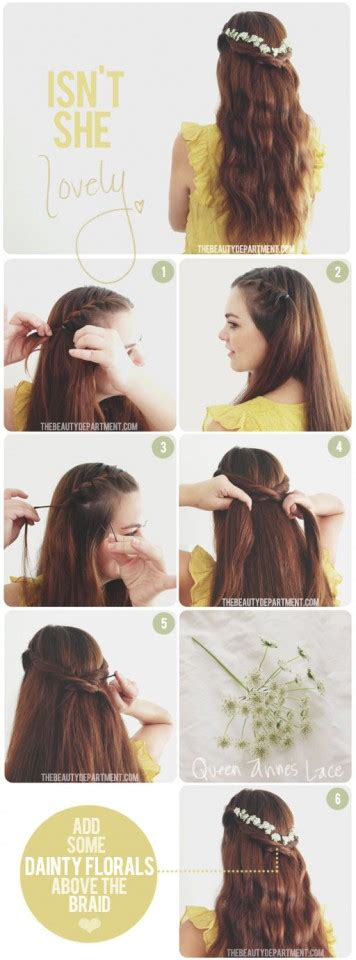 tutorial hair design 9 pretty diy hairstyles with step by step tutorials