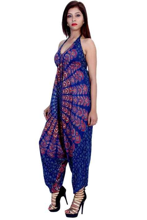 Jumpsuit Rayon Motif Murah shopping india fashion for womens jumpsuits