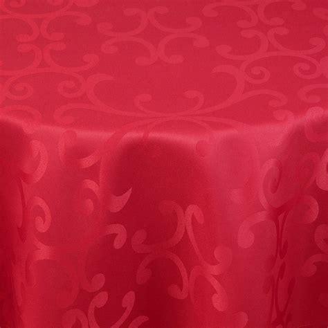 tischdecken rund 220 cm damast tischdecke milano 220cm rund bordeaux