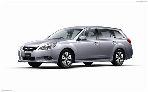 2010 Subaru Legacy Wagon Jdm Widescreen Car Picture