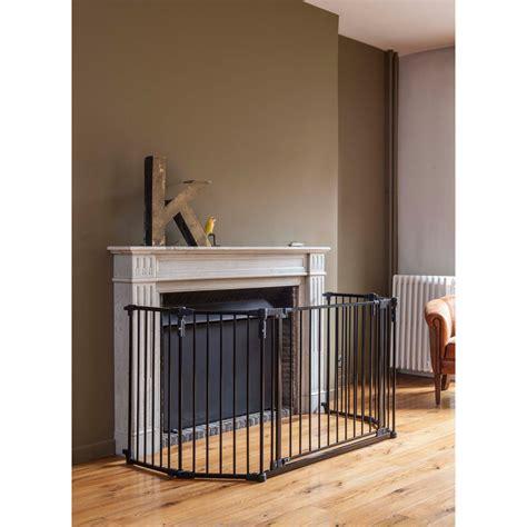 barriere cheminee barriere de s 233 curit 233 pare feu grand modele noir de quax