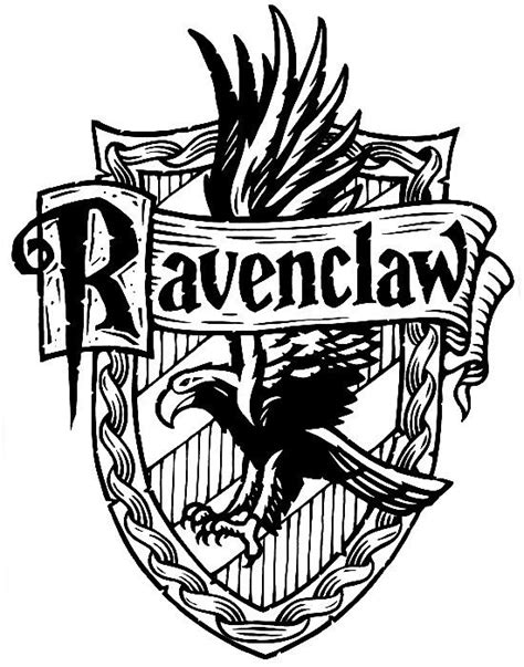 harry potter hogwarts ravenclaw crest diy if my owl had