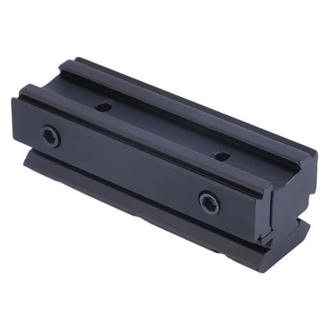 11mm To 20mm Dovetail To Rail Mount Base Adapter Scope Mount Yz0169 dovetail 11mm to 20mm weaver picatinny rising rail scope mount base adapter dg ebay