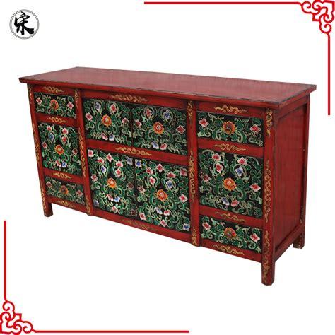 muebles tibetanos chino antiguo pintado a mano muebles tibetanos armarios