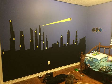 Kids Bedroom Painting Ideas batman yellow paint color matt and jentry home design