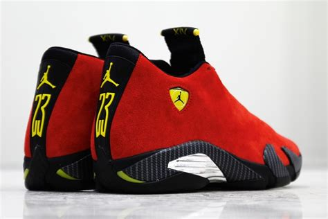 michael jordan ferrari bringing the ferrari to life with the air jordan 14