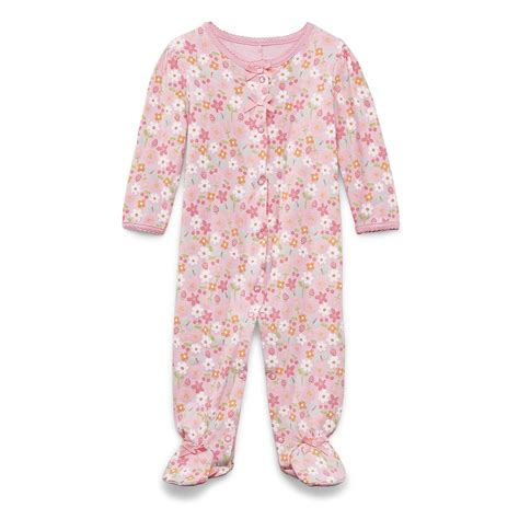 s infant toddler s footed sleeper pajamas