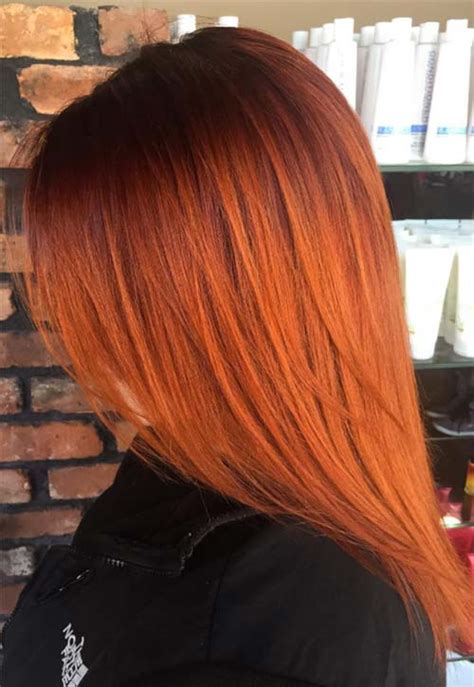 copper colored hair 50 copper hair color shades to swoon fashionisers