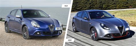 alfa romeo giulietta new model alfa romeo giulietta facelift vs new carwow