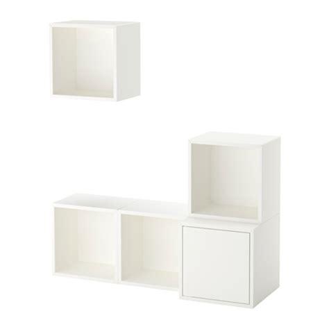 Ikea Eket Kabinet Warna Putih Ukuran 35x35x35 Cm eket kombinasi kabinet dpasang di dnding putih ikea