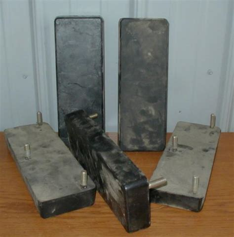 rubber st ebay 5 heavy equipment pads track rubber 12 quot u10 ebay