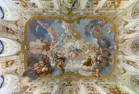 Ceiling Paintings by Picture Of The Day The Ceiling Fresco At Seitenstetten