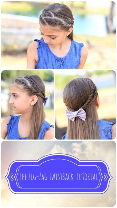 cute girl hairstyles zig zag 17 best images about cgh hairstyles for every occation